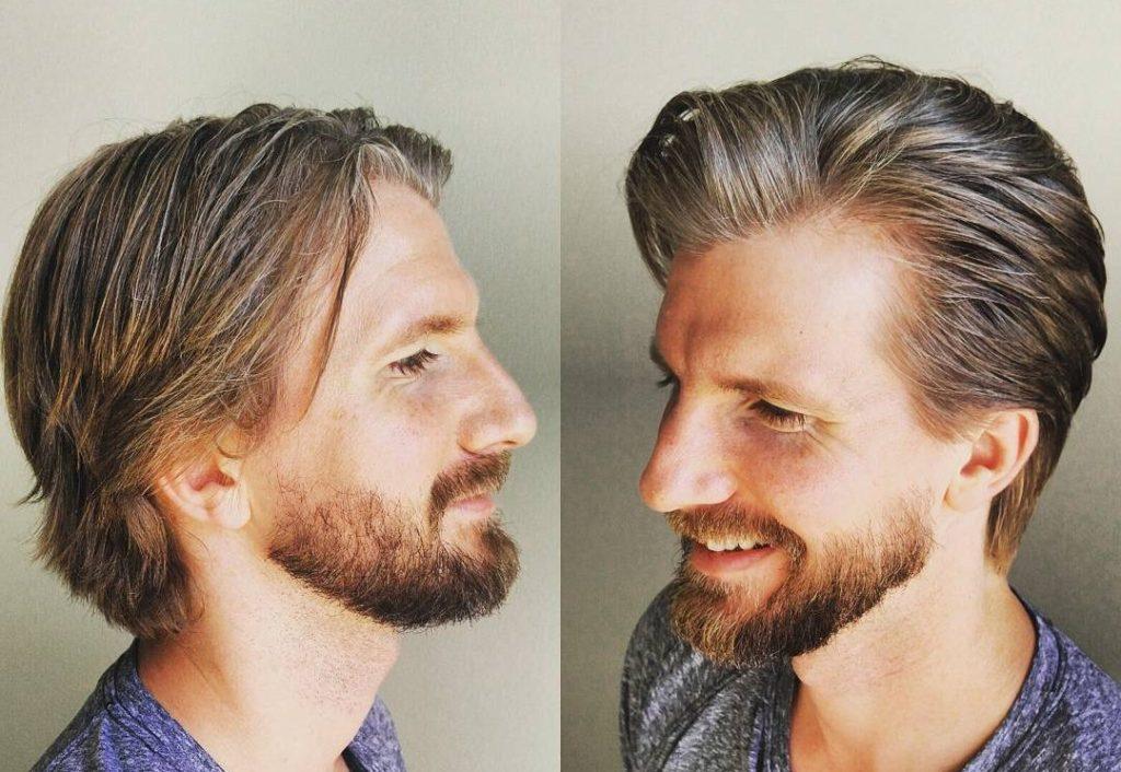 estilo de peinado cabello medio