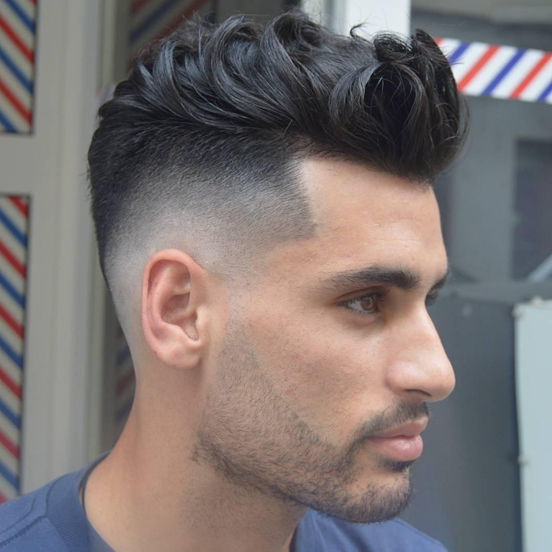 Degradado corte de cabello hombre