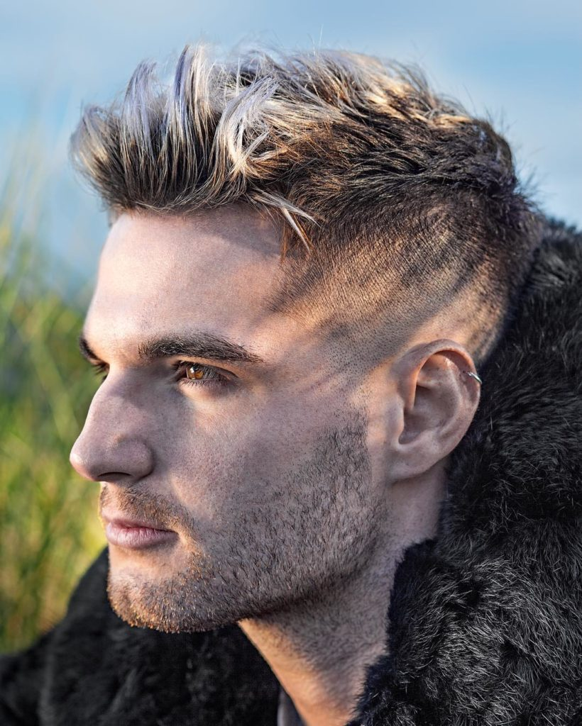 Peinado en pelo corto