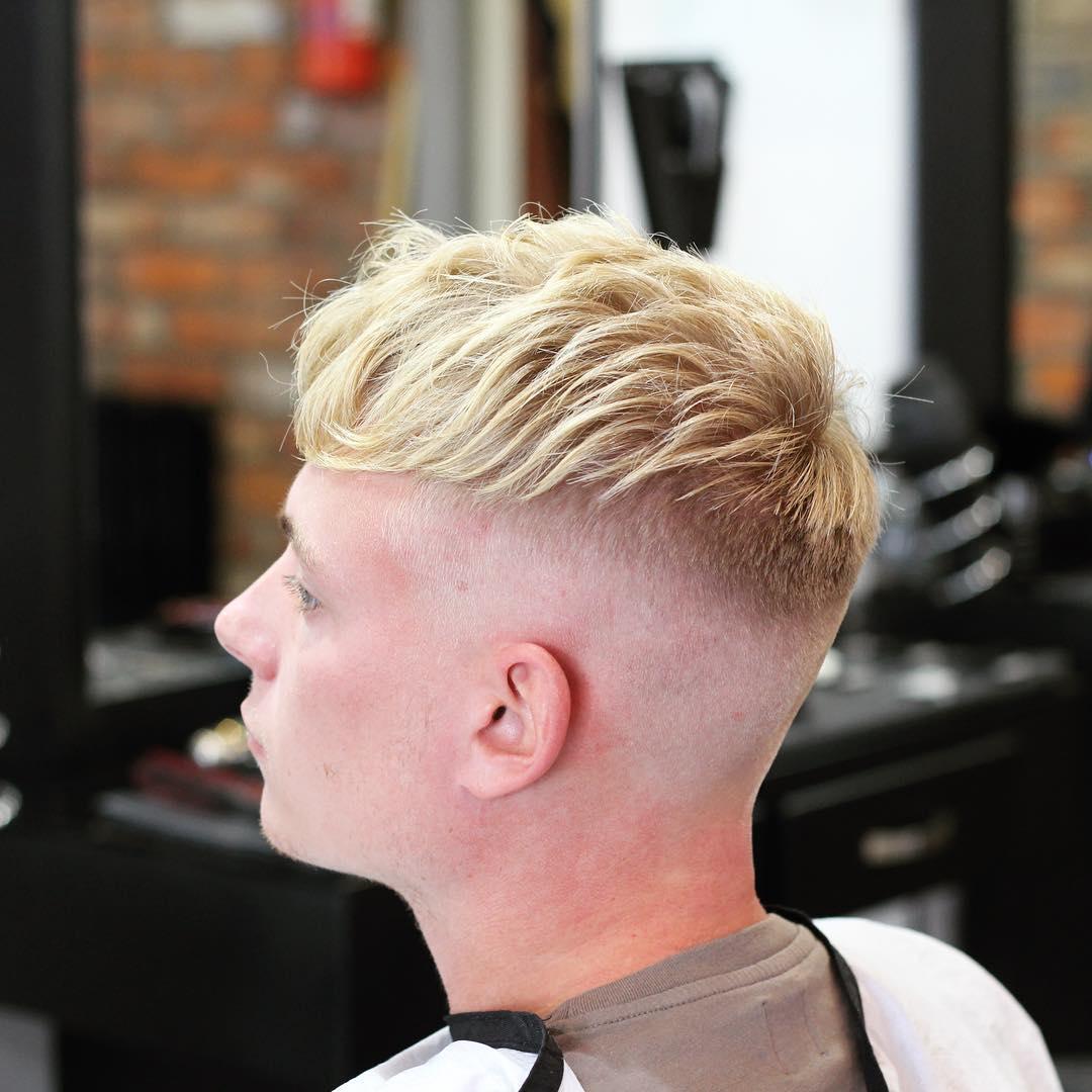 corte de cabello corto para hombre
