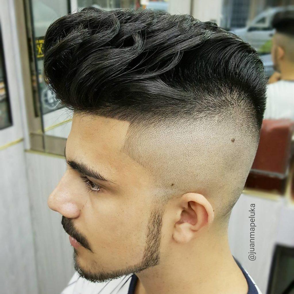 El sombreado corte de pelo
