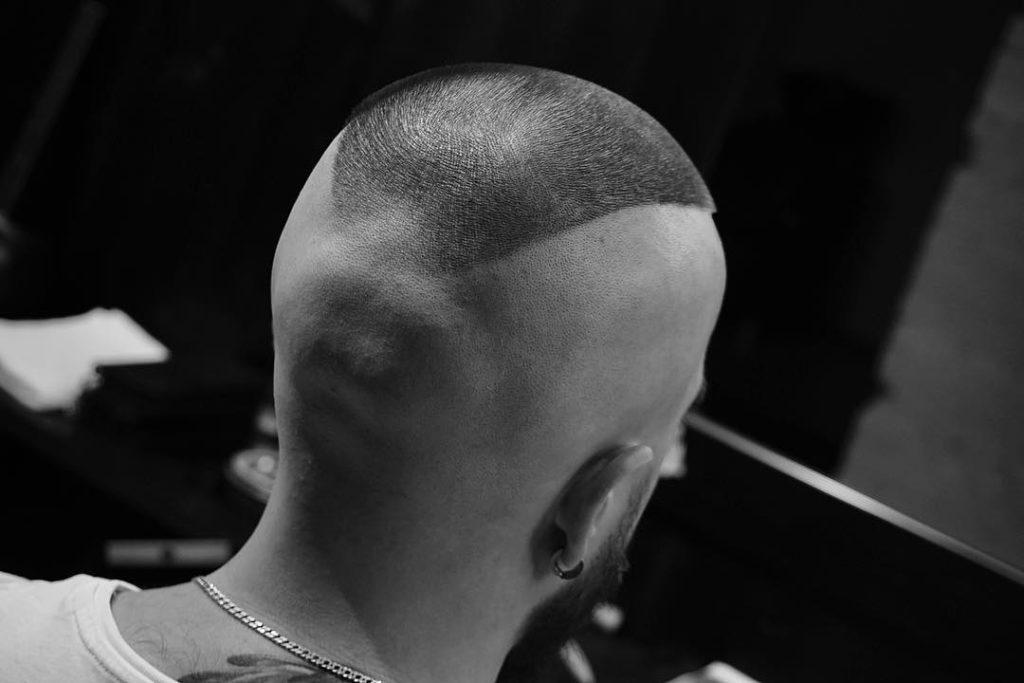 lados afeitados