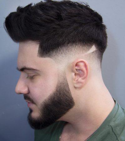 barba recortada