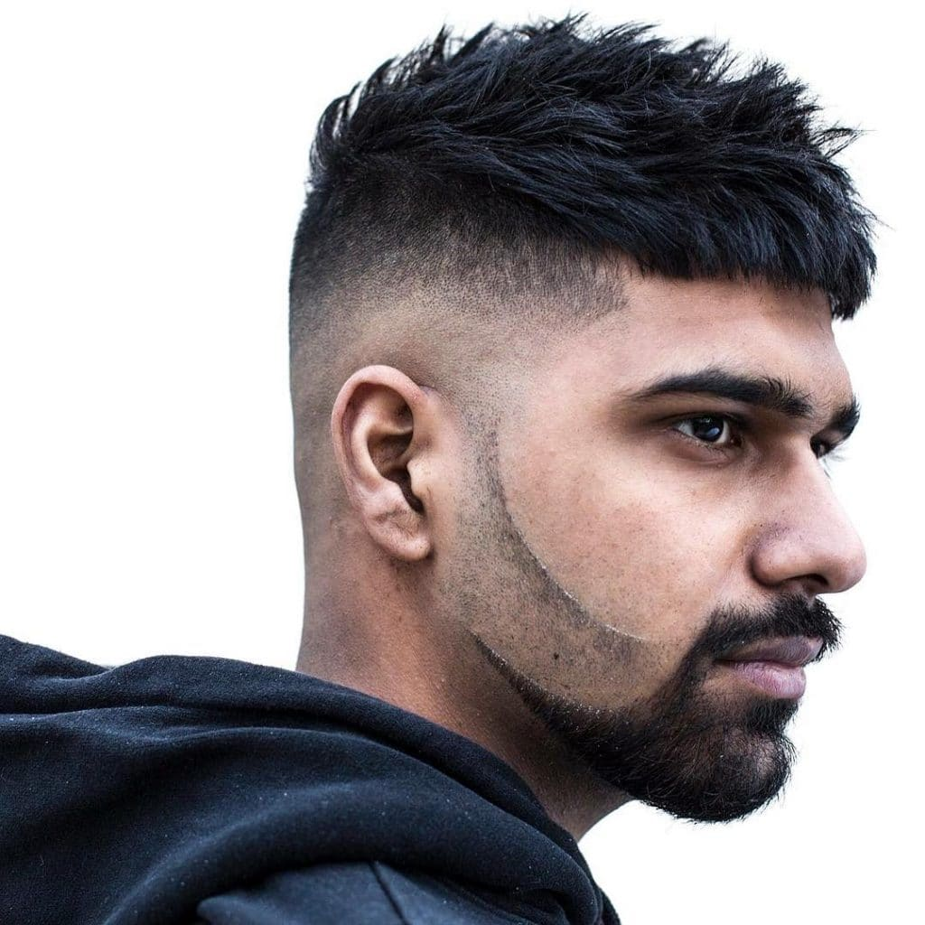 cortes de barba 2018 con doble fade