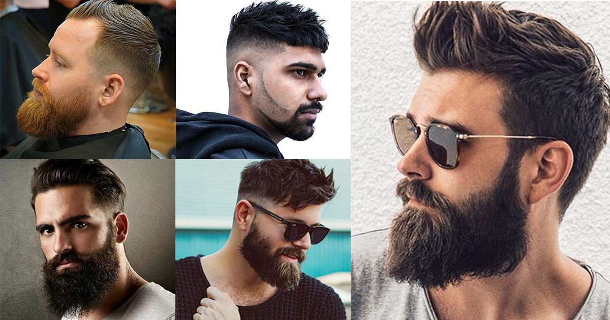 Estilos y cortes modernos para barbas