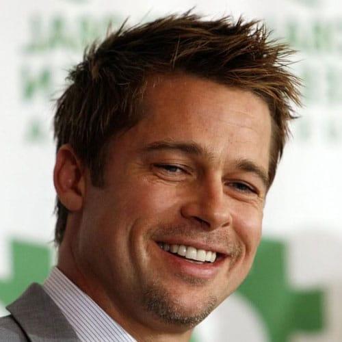 Brad Pitt corte de pelo corto