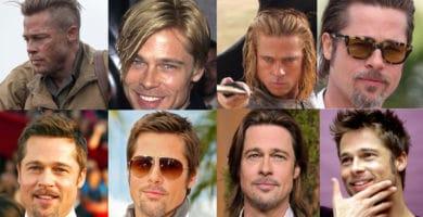 Brad-Pitt-cortes-de-pelo-largos-y-cortos