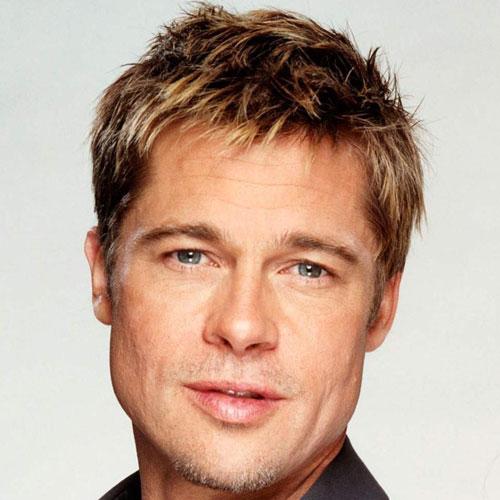 Brad Pitt pelo corto
