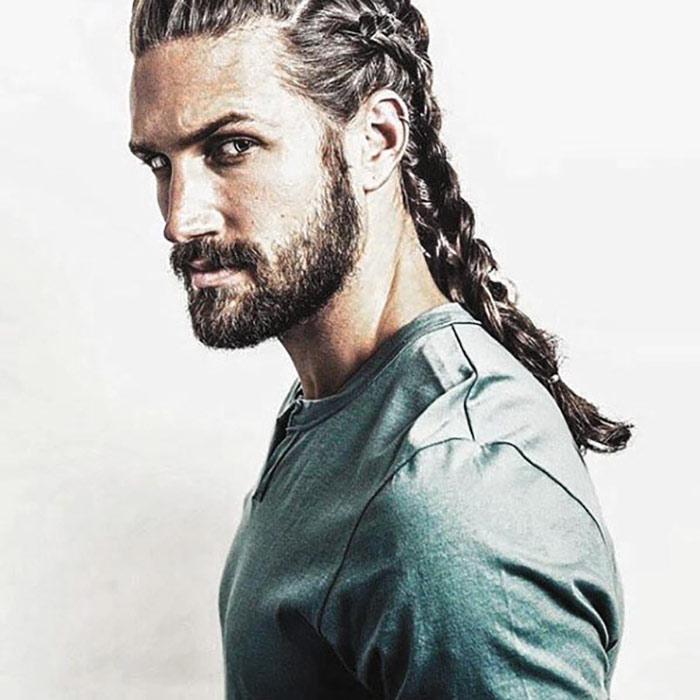 barba-corta-hombre-pelo-largo