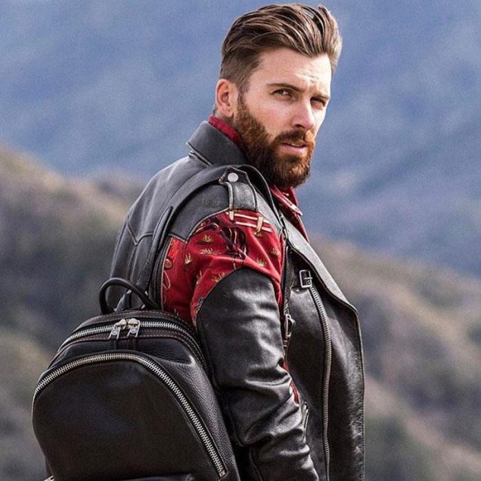 barba hipster moderna