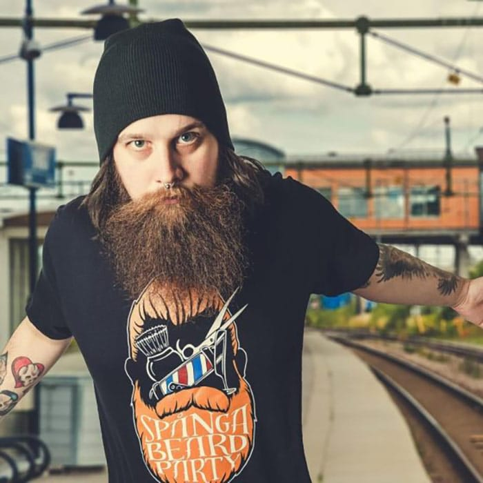 barba hipster punk