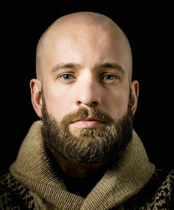 barbas para calvos