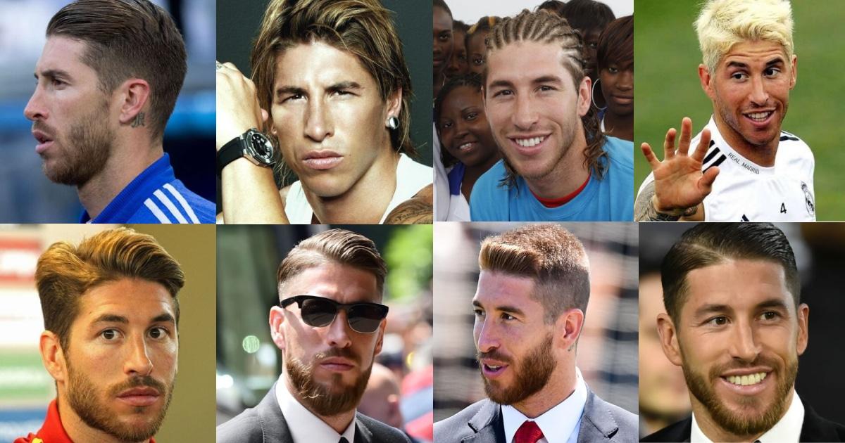 Los 50 Mejores Peinados De Sergio Ramos Cortes De Pelo 2019