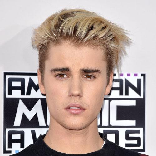 justin bieber corte de pelo moderno con tinte rubio