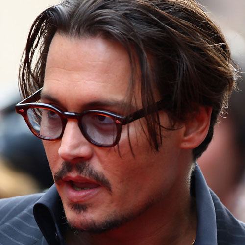 peinado johnney depp
