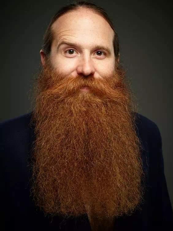 Barba Roja y Larga sin arreglar