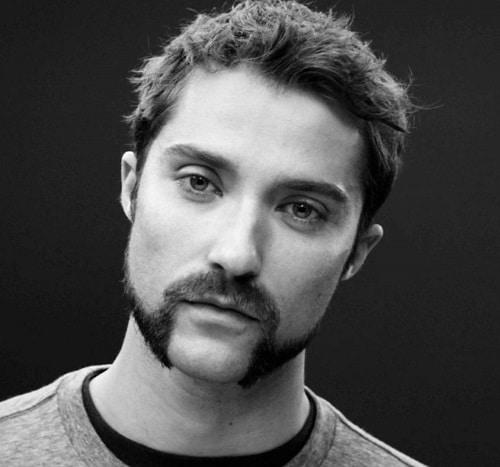 Barba semi Candado con laterales sin Perilla