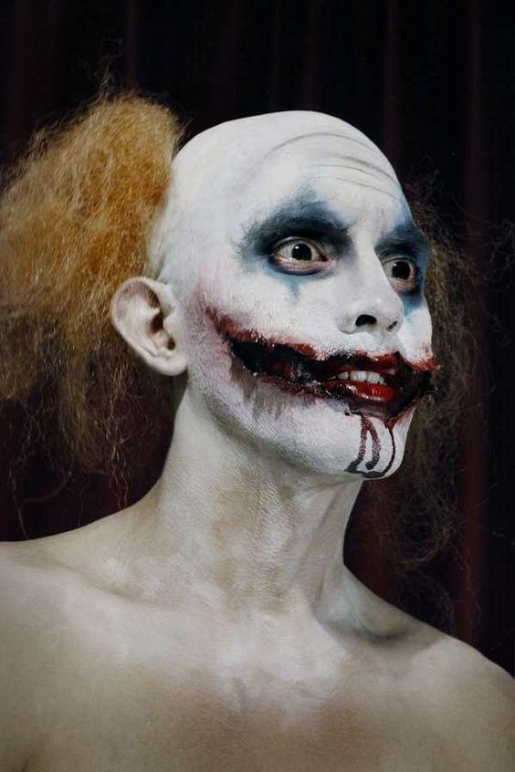 Disfraz y Maquillaje para Halloween de Hombre Payaso