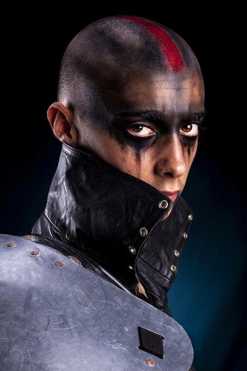 Guerrero Maquillaje para Halloween dia de los Muertos Ideas