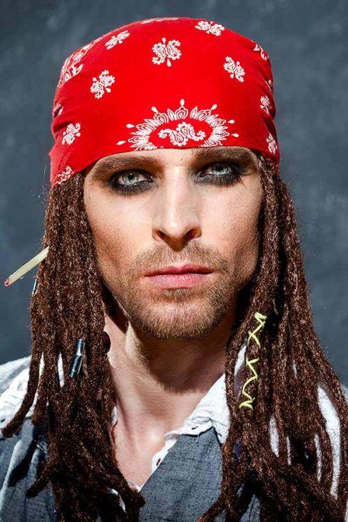Halloween Maquillaje de -jack-sparrow