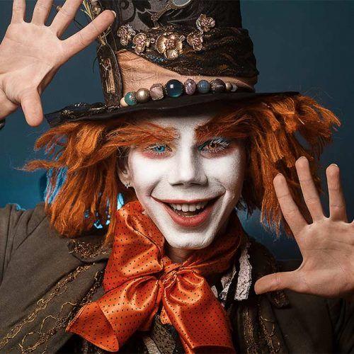 Idea para Maquillaje de Halloween en Hombre