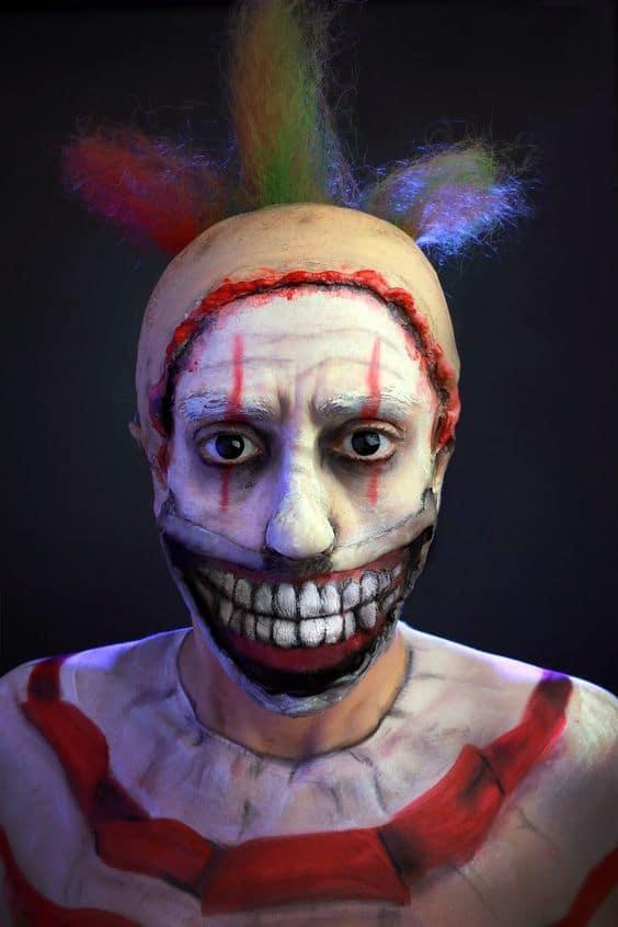 Ideas de Maquillaje para hombres - Halloween