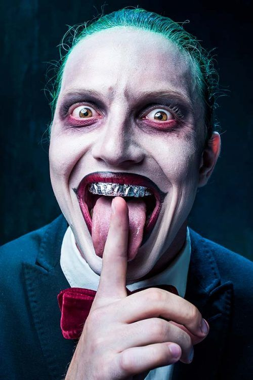 Joker Maquillaje para Halloween