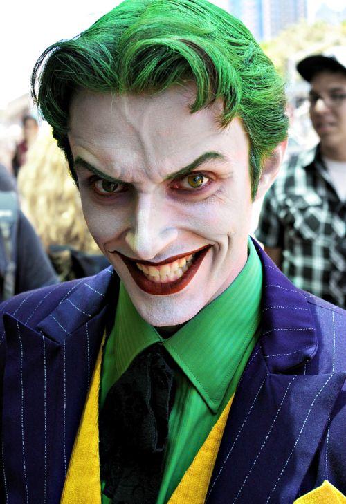 Joker disfras para halloween En hombre