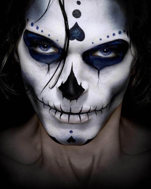 Maquillaje para Hombres de Calavera