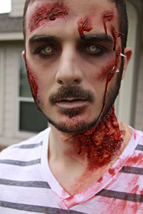 Sombi Maquillaje para Halloween