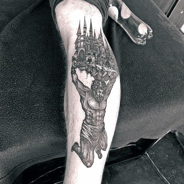 Tatuaje griego castillo