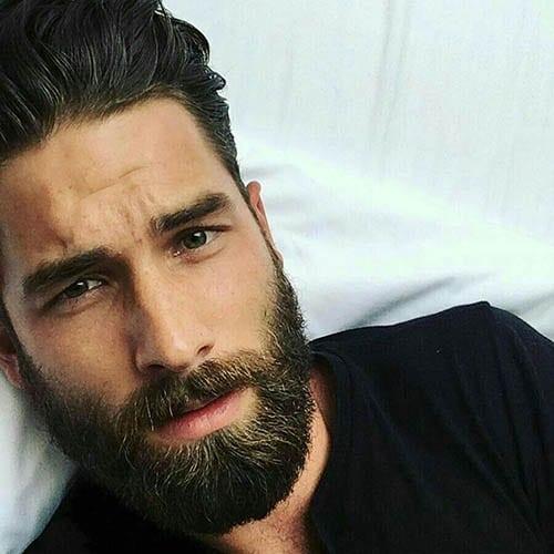 Hombre Guapo con Barba y bien peinado