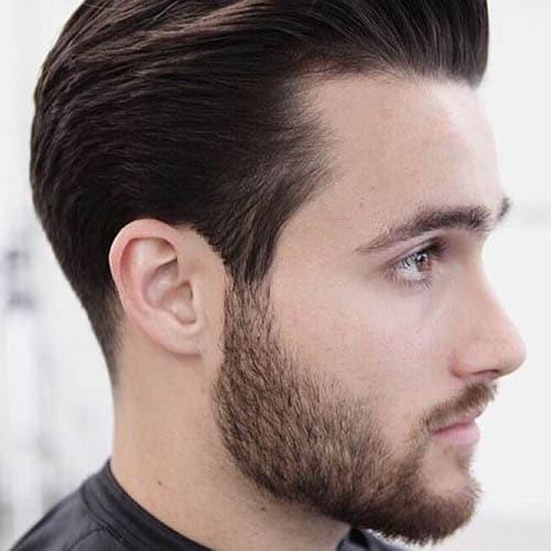 Hombre joven guapo con barba