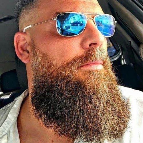 barba de leñador larga